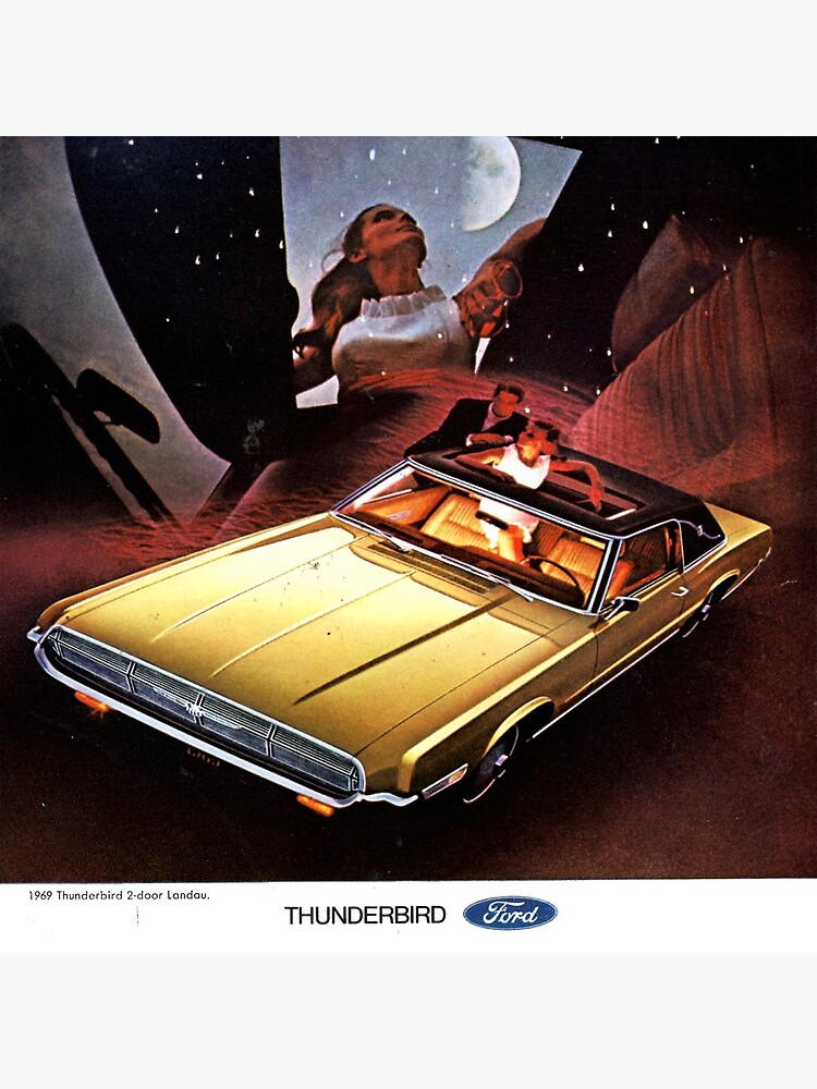 Ford Thunderbird ad 1969  by liesjes