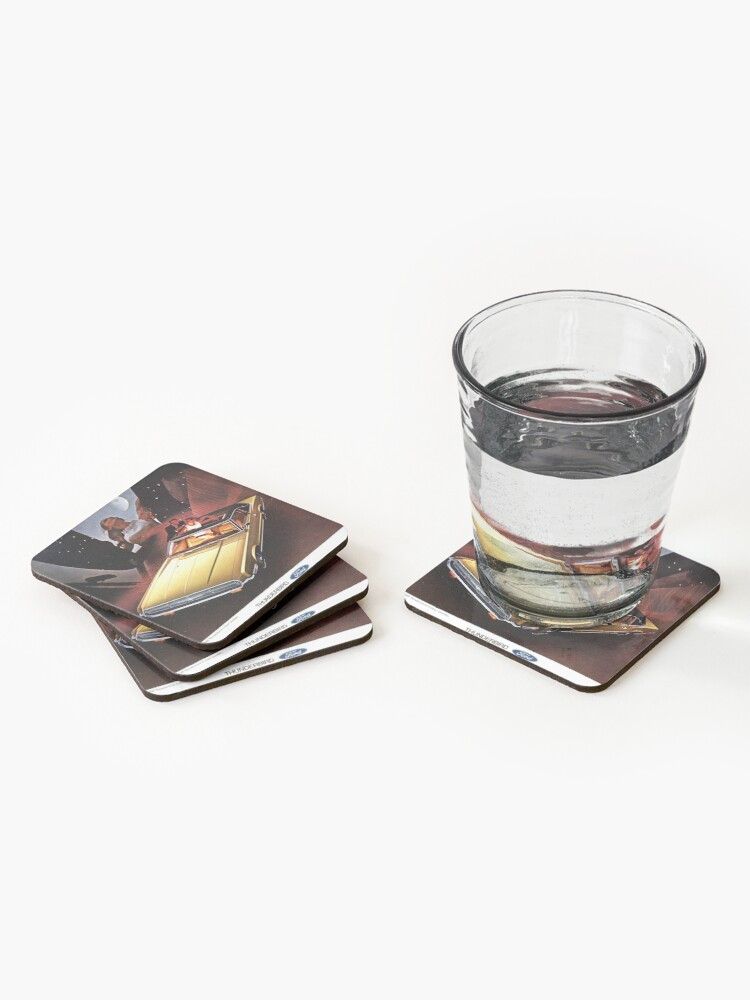 Alternate view of Ford Thunderbird ad 1969  Coasters (Set of 4)