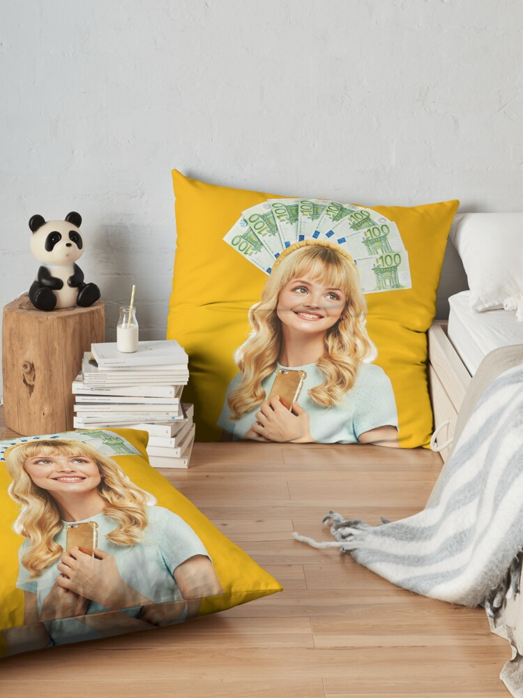 Alternate view of Angela Poster Floor Pillow