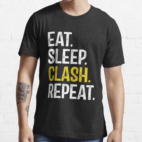 Mangez Sommeil Clash Répétez T-shirt essentiel