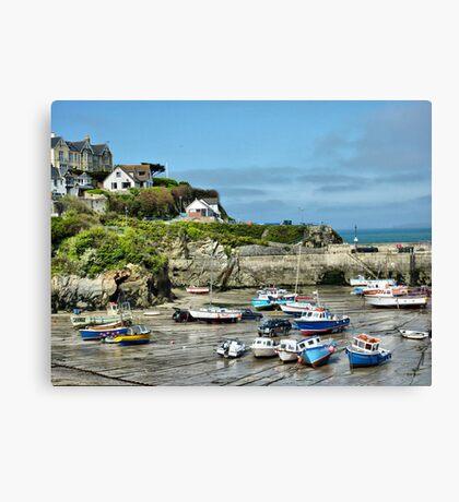 Newquay Cornwall Canvas Print