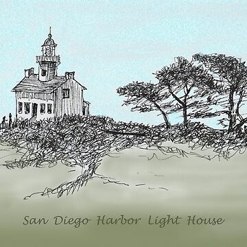 San Diego's Light House by JamesLHamilton