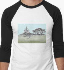San Diego's Light House Men's Baseball ¾ T-Shirt