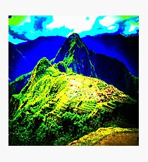 Celestial Green Photographic Print