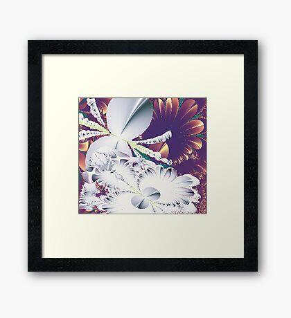 """""""Fractal Flowers"""" Framed Print"""
