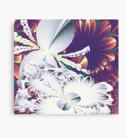 """""""Fractal Flowers"""" Canvas Print"""