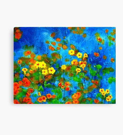 Flowering glade Canvas Print