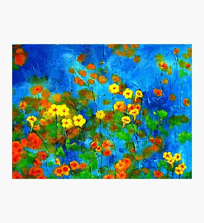 Flowering glade Photographic Print