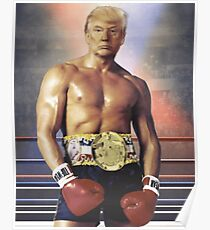 Trump Rocky Poster