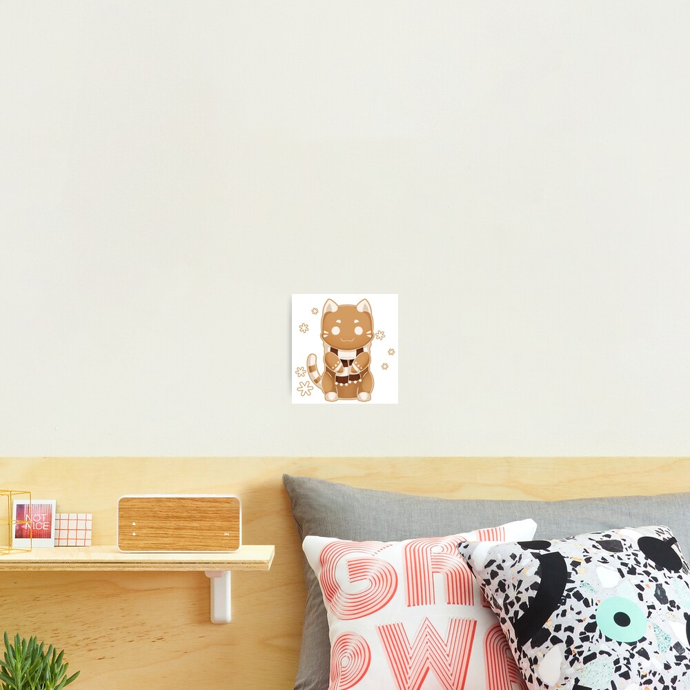 Gingerbread Cat Cookie - 2019 Photographic Print