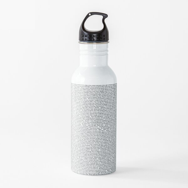 Bee Movie Script Full -Update High Resolution Water Bottle