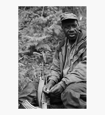 Guardian of the Mountain Gorillas Photographic Print