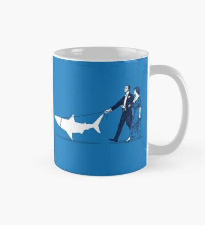 Walking the Shark Mug