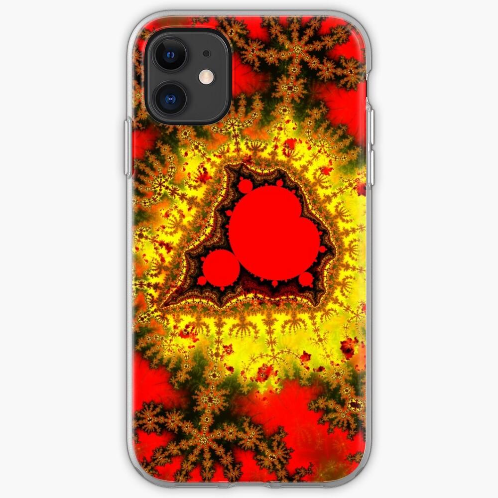 Red Mandelbrot II iPhone Case & Cover