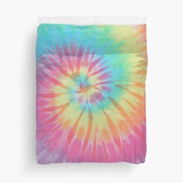 Pastel Tie Dye Duvet Cover