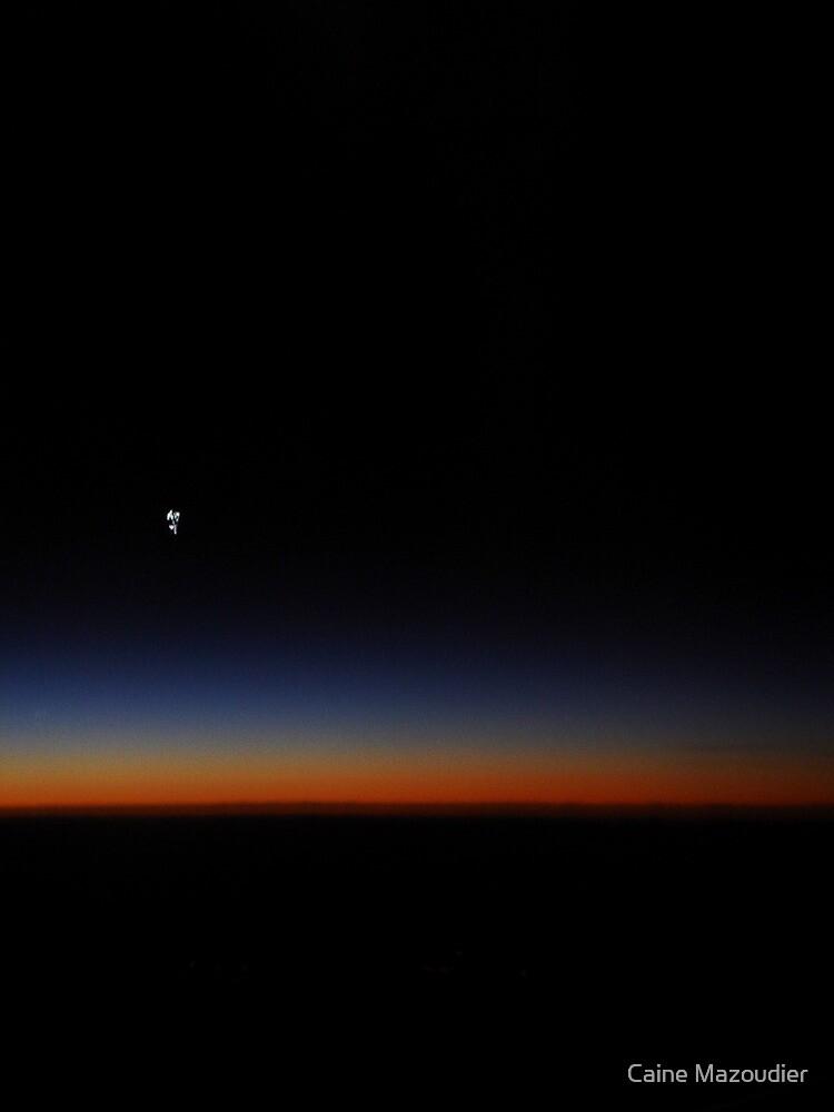 Skyline In Flight 2 by Caine Mazoudier