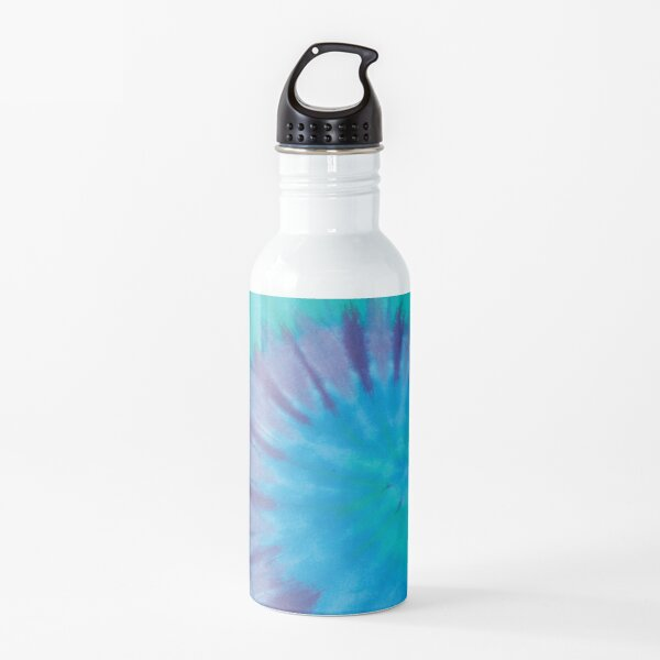 Blue Ocean Tie Dye Water Bottle