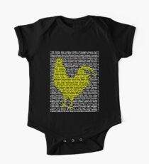 "'The Year Of The Rooster / Cockerel"" Clothing One Piece - Short Sleeve"