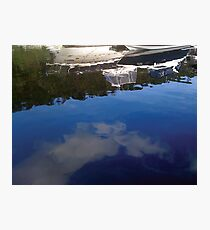 Boat Reflections Photographic Print