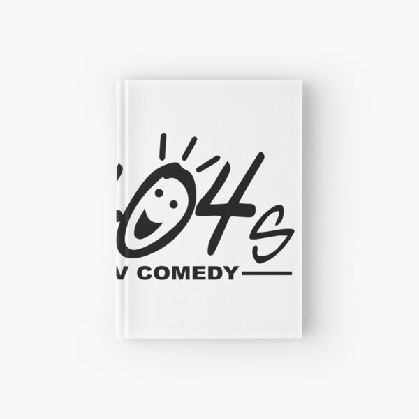 The 404s Logo - Black Hardcover Journal