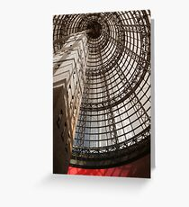 Melbourne Coops shot tower Greeting Card