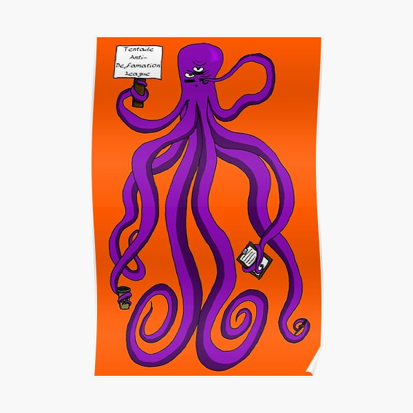 Protest Octopus Poster