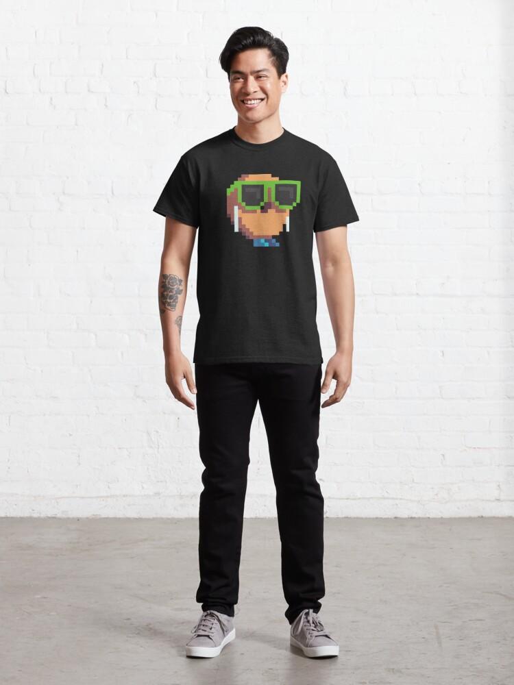 Alternate view of Lou Bagel Logo Classic T-Shirt