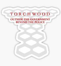 Torchwood Tagline Sticker