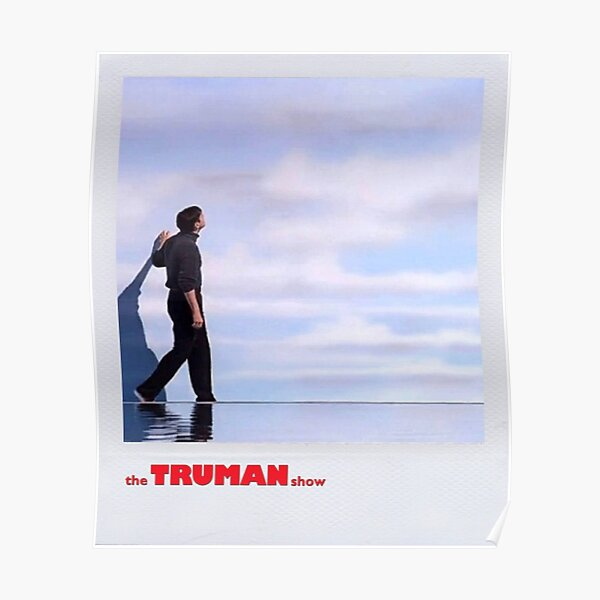 le polaroid du spectacle Truman Poster