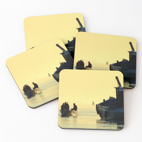 Towards the unknown Coasters (Set of 4)