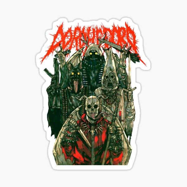 Dorohedoro metal Sticker
