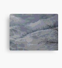 willd sky Canvas Print