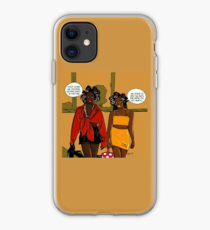 Fashionable Late iPhone Case
