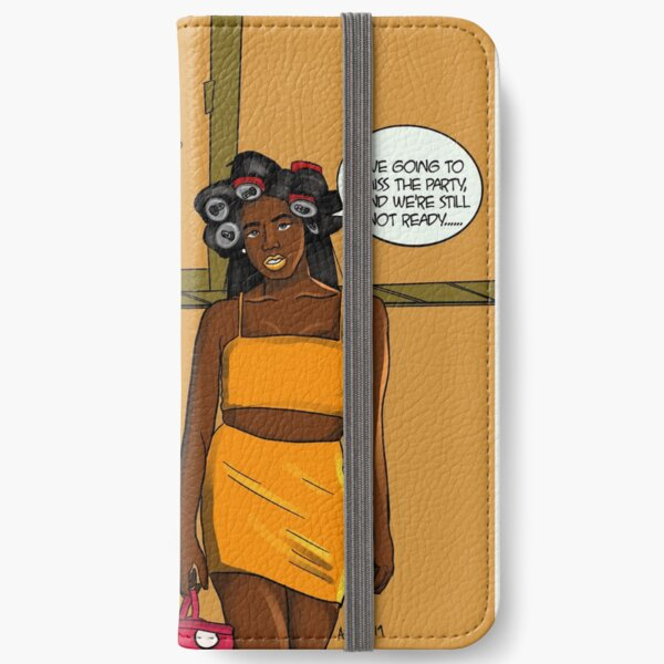 Fashionable Late iPhone Wallet