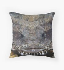 Eastern Frogfish Throw Pillow
