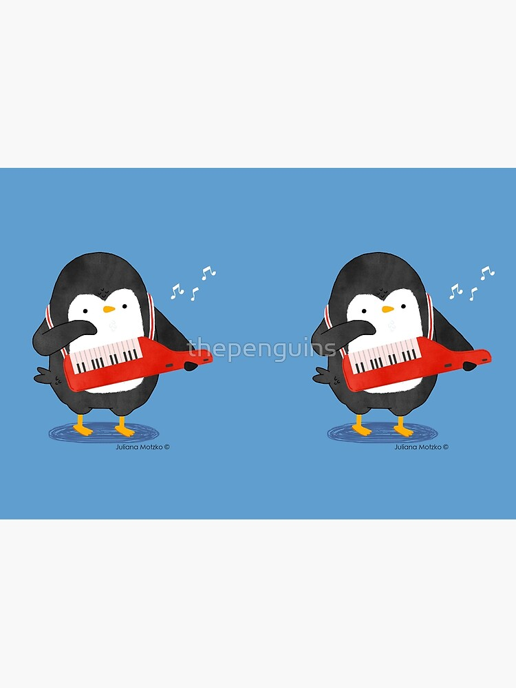 Keyboarder Penguin by thepenguins