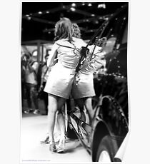Angels - Bangkok Motorshow models Poster