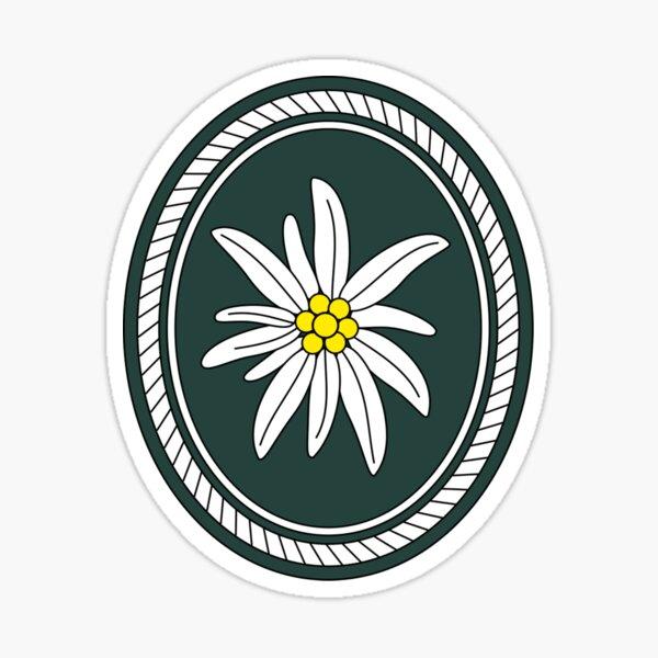 1st Mountain Division (Bundeswehr) Edelweiss Sticker