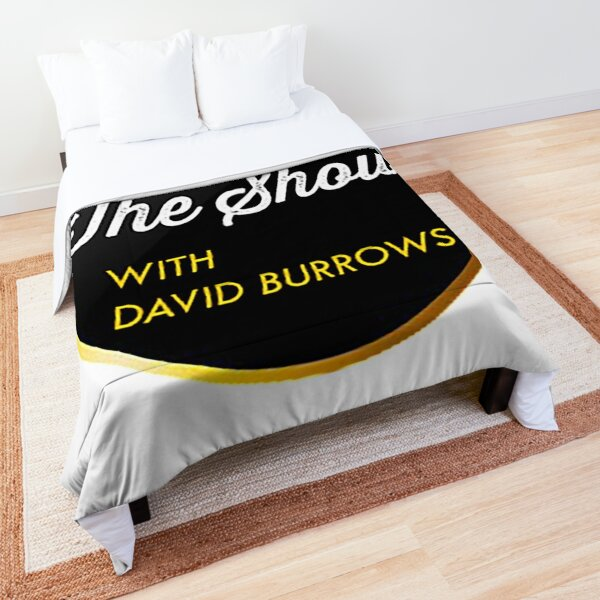The Show with David Burrows Logo Comforter
