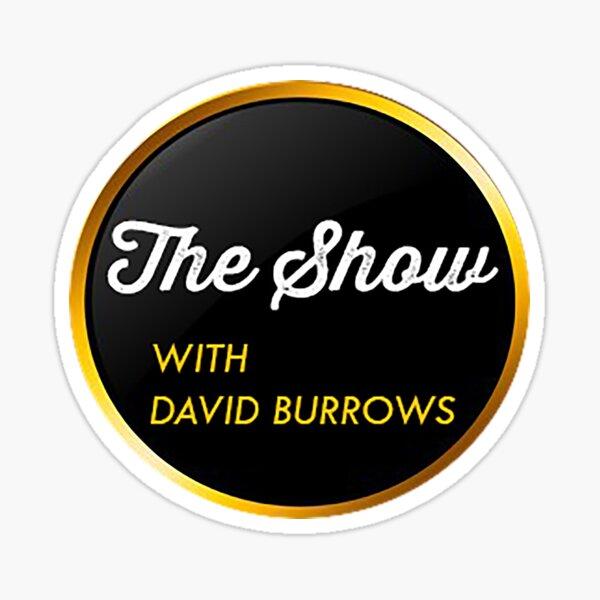 The Show with David Burrows Logo Sticker