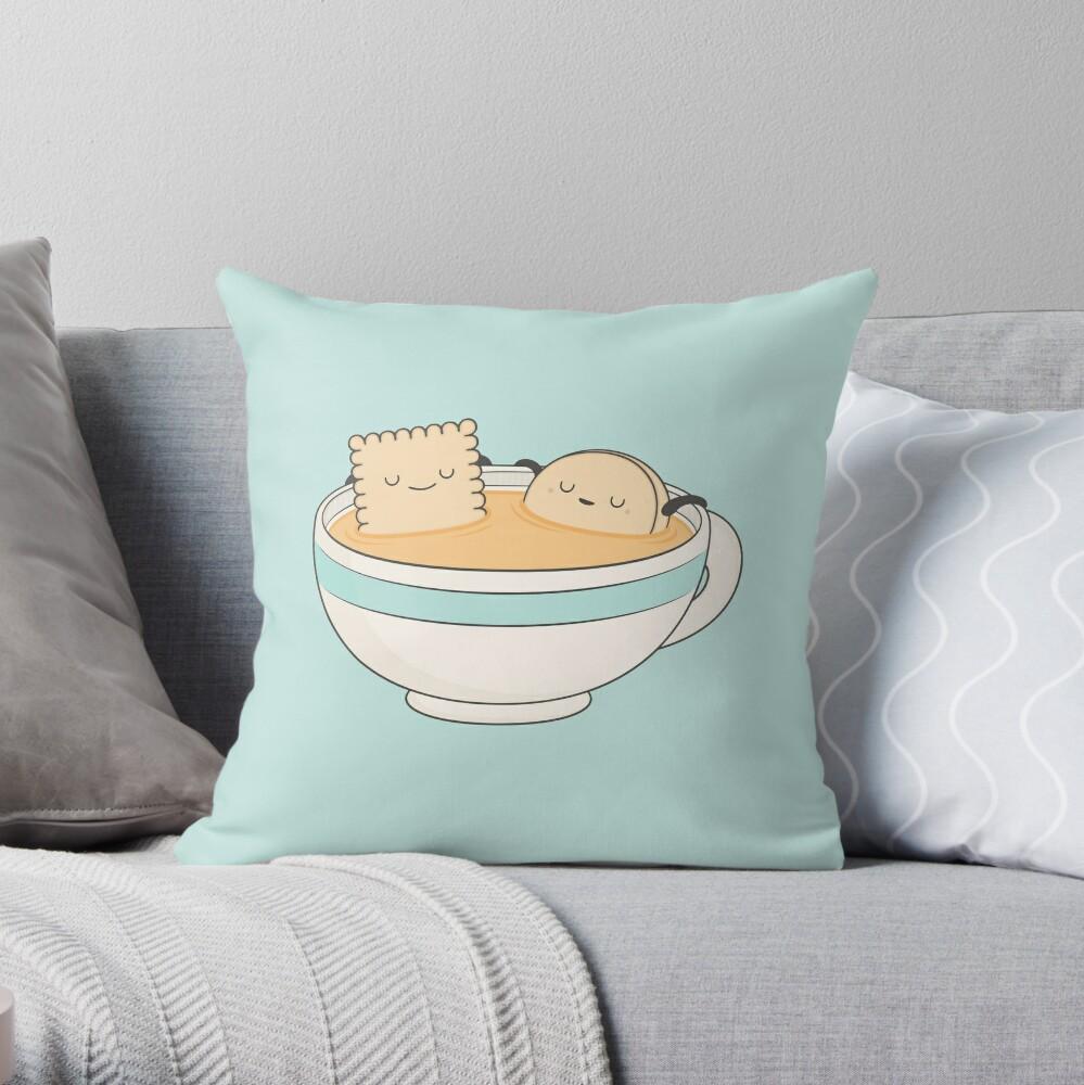 loosen up a little! Throw Pillow