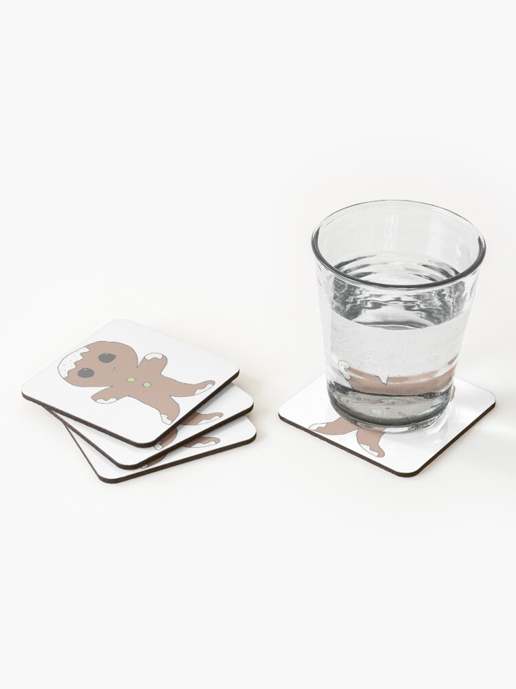 Alternate view of Gingerbread man Coasters (Set of 4)