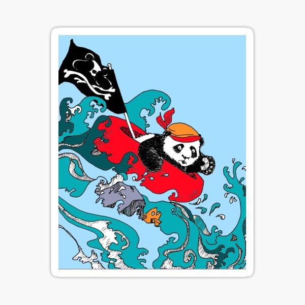 Ahoy Pirate Wu! Sticker