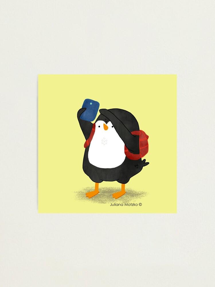 Alternate view of Tourist Penguin Photographic Print