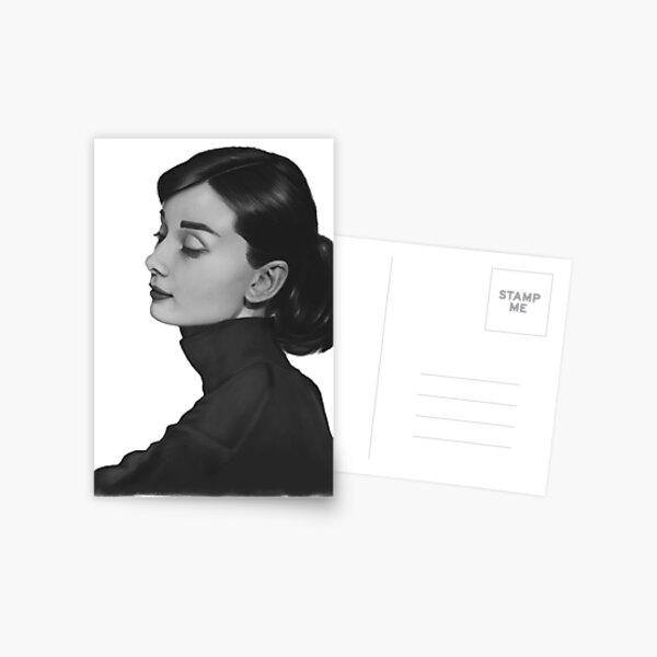 Audrey Hepburn Carte postale