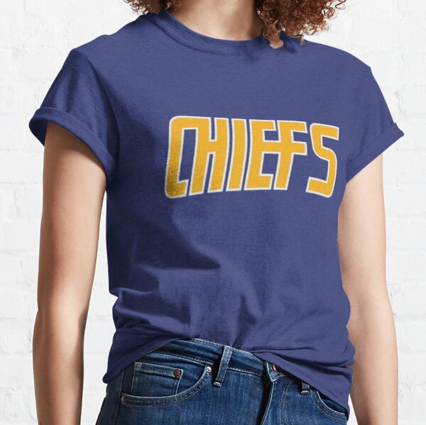 Slap Shot - Charlestown Chiefs - Hanson Brothers - Blue Classic T-Shirt