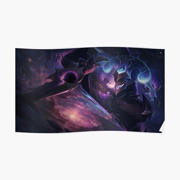 Dark Star Shaco Splash Art - League of Legends Poster