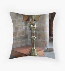 The Eagle Lectern Throw Pillow