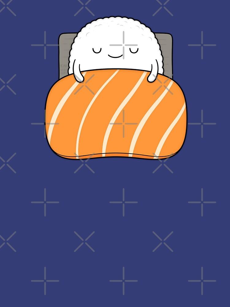 Sleepy Sushi Bed by kimvervuurt