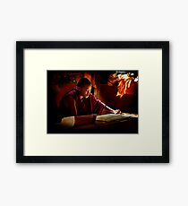 Scriptures Framed Print